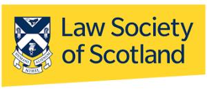 Law Society of Scotland logo | link to Law Society of Scotland website