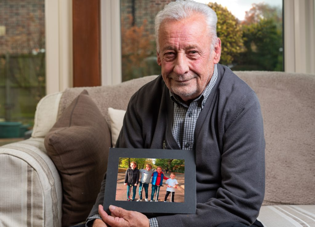 Keith's story - creating a better future for his grandsons & Prostate Cancer UK_Blog_Body Image2 | Remember A Charity