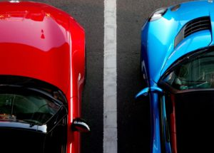 Two parked cars_How Do I Find Out The Value Of An Estate_Blog_Body Image | Remember A Charity