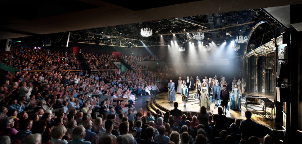 Curtain call at Chichester Festival Theatre's production of Amadeus
