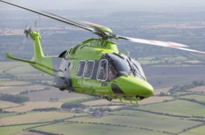 A photo of a Children's Air Ambulance helicopter | Remember A Charity